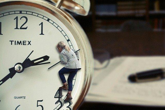 時計と就活塾生
